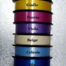 Colori Metallizzati 31 mm. Nastro lucido in molte tonalità.