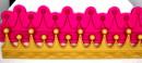 Corona Regina /Principessa. Stampo extra large in silicone di 22 cm