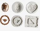 Diadema Cornice con 4 motivi. Stampo in silicone