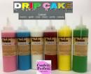 Drip Cake. Topping Cioccolato in molti colori