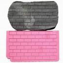 Effetto Muro di mattoni. Stampo in silicone