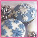 Fiocchi di Neve Frozen Stampo in silicone per il cake design