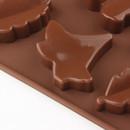 Foglie. Stampo per cioccolato in silicone