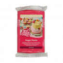Fucsia.Pasta di zucchero FunCakes. 250 gr. Hot Pink. Senza Glutine e Kosher