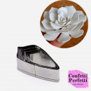 Gardenia. 4 Cutter in metallo