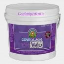 Kg 1 Bianca Cove Glass Extra Velo. Con Alta percentuale di Burro di Cacao.Per Copertura e Modellaggio.