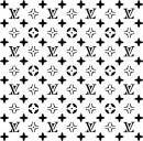 Louis Vuitton 20x20 cm. Stencil