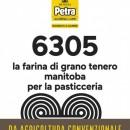 MANITOBA. 12.5 Kg. PETRA 6305. Farina con W superiore a 350