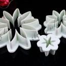 Margherita. 3 Stampi in plastica per decorare la tua torta