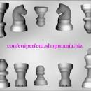 Stampo in policarbonato per scacchi di Cioccolato