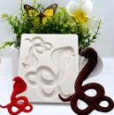 Serpente Cobra. Stampo in silicone