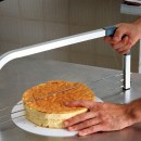 Taglia torta e fette in acciaio Professionale a 3 lame regolabili