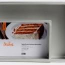 Tortiera 20 x 30 cm h.10 cm. Rettangolare in Alluminio anodizzato. Decora