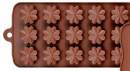 15 Fiorellini. Stampo in silicone