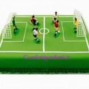 Set Calcio di 6 Calciatori con 2 Porte e Arbitro. PME
