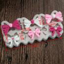 stampo fiocchi e papillon in silicone per decorare