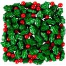 Agrifogli. Decorazioni di Natale in zucchero Sprinkles. Wilton