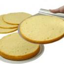 Anello Taglia torta cornice regolabile in acciaio inox per torte