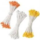 Assortimento Stami e Pistilli Giallo Bianco e Arancio 180 pezzi. Wilton