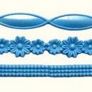 Bordi Perle Fiori in silicone