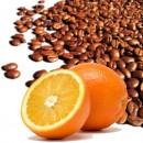 Caffè aromatizzato Arance mature. Disponibile in Grani e Macinato.