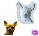 Cane Chihuahua. Stampo in Silicone ad alta definizione