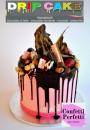Drip Cake Aromatizzati. Topping Cioccolato in molti gusti