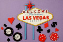 Las Vegas e Poker. Stampo Tagliapasta Patchwork Cutter
