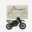 Moto Yamaha Honda. Alta definizione. Stampo in silicone