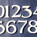 Numeri polistirolo per il Cake design