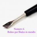 Numero 6. Bulino per Sbalzo in metallo