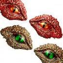 Occhi Dinosauro. Stampo extra large in silicone di 20 cm
