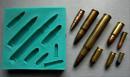 Pallottole e Munizioni. Stampo in silicone