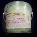 Porcellana fredda Bianca Alimentare. Gum Paste per Fiori