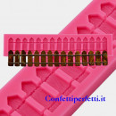 Recinto o Steccato. Stampo in silicone