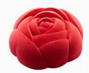 Rosa. Stampo Tortiera in silicone
