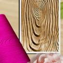 Venature Legno. Grandissimo Stampo in silicone 447 x 240 mm