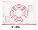 XXL 400 x 500. Grande Tappetino graduato Antiaderente in silicone