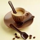 Cucchiaini di cioccolato. Stampo in silicone. Silikomart