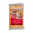 Arancione Tropical. Pasta di zucchero FunCakes. 250 gr. Kosher e senza Glutine