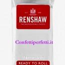 Bianca Extra. Renshaw. Pasta di zucchero alla Vaniglia da 250 Gr. Certificata Kosher.
