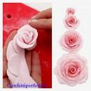 Stampo per Rosa di 2 dimensioni per la pasta di zucchero