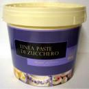 DAMA TOP SPECIAL Irca. Pasta di zucchero BIANCA x Copertura e Modelling da 5 Kg.Senza Glutine.