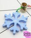 Fiocco di neve. Stampo in silicone
