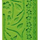 Fiori Uccellini e Rami. Stampo in silicone con 15 motivi decorativi.