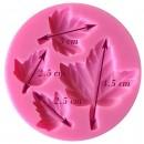 Foglie di Edera. Stampo in silicone per il cake design