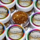 Glitters Bronzo Sabbia. RD Sparkles Decorativi Jewel Bronze Sand. Rainbow Dust