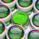 Glitters Verde Lime. RD Sparkles Decorativi Stardust Lime. Rainbow Dust