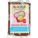 Marrone Intenso. Pasta di zucchero FunCakes Brown. 250 gr.