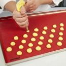 MICROFORATO. 40 x 60 cm. Tappetino in silicone FOROSIL - Uso professionale.